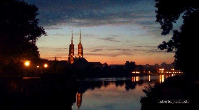 Sunrise at Ostrów Tumski.