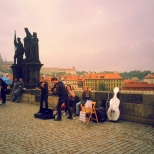 Prague - Charles Bridge Musica