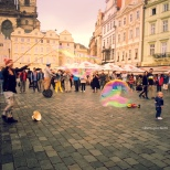 Prague - Kids and Bubbles