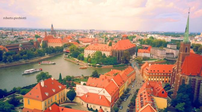 Breslavia dal campanile della Cattedrale