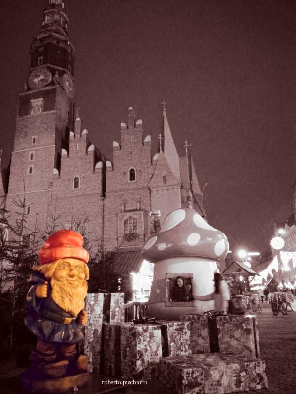 Gnomo Mercatino di Natale Wroclaw