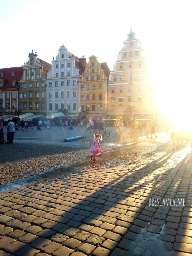 Anche a Breslavia l'estate