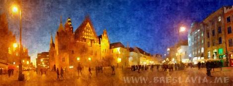 Rynek Ratusz Breslavia