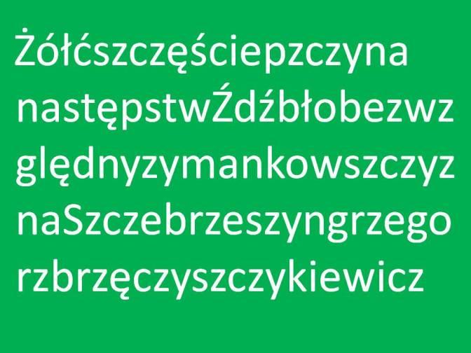 Le 9 parole più difficili della lingua polacca