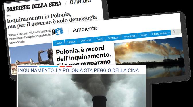 Inquinamento. Polonia peggio della Cina!